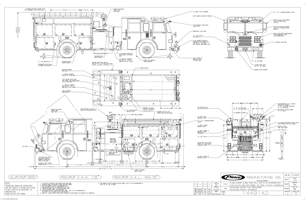 pierce fire truck wiring diagrams pierce fire truck