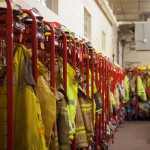 Firefighter Gear Lockers